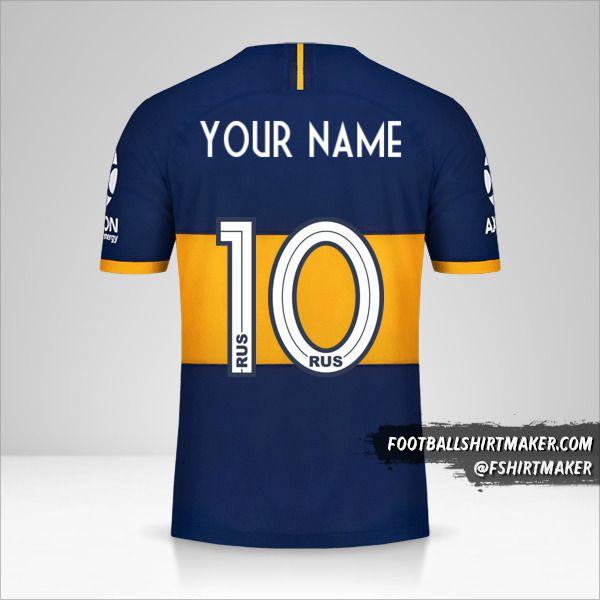 Boca Juniors 2019/20 jersey number 10 your name
