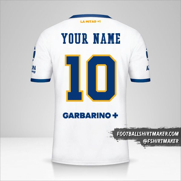 Boca Juniors 2020/21 II jersey number 10 your name