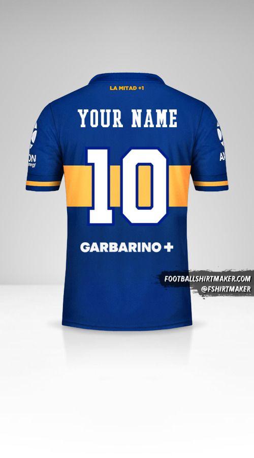Boca Juniors 2020/21 jersey number 10 your name