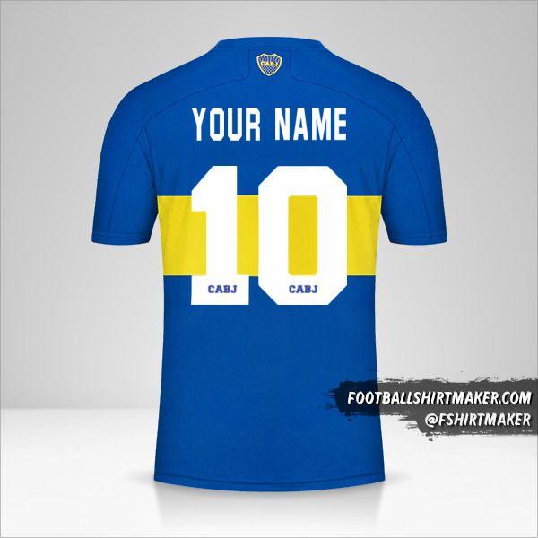 Boca Juniors 2021/2022 jersey number 10 your name