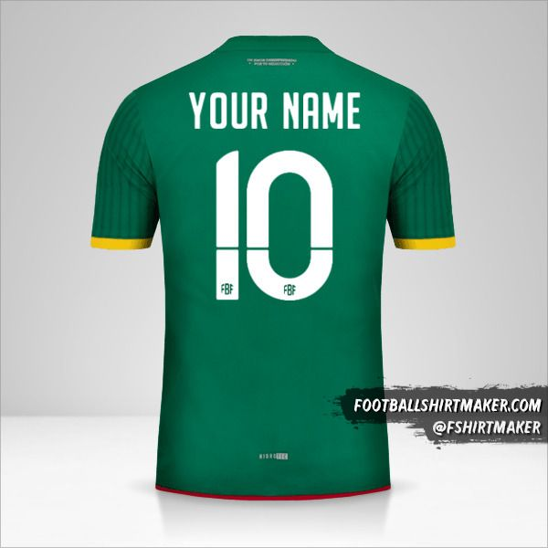 Bolivia 2015 jersey number 10 your name