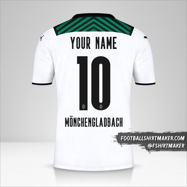 Borussia Monchengladbach 2021/2022 jersey number 10 your name