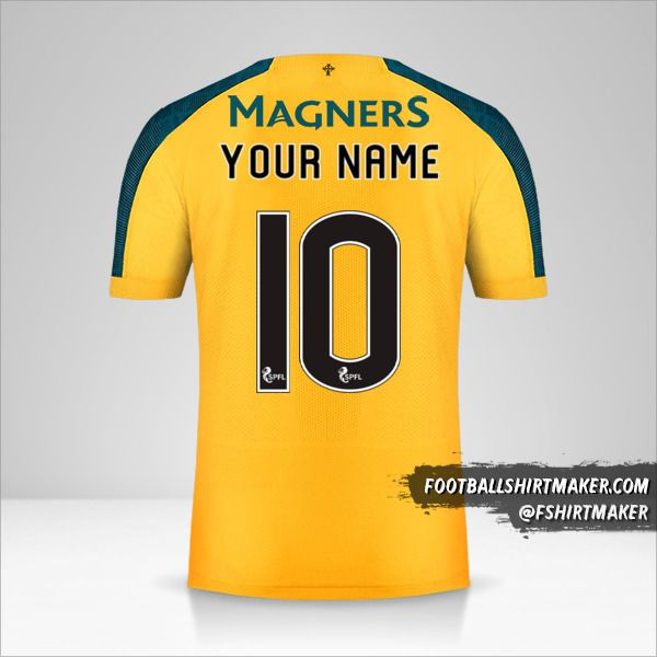 Celtic FC 2019/20 II jersey number 10 your name