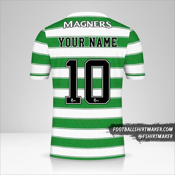 Celtic FC 2021/2022 jersey number 10 your name