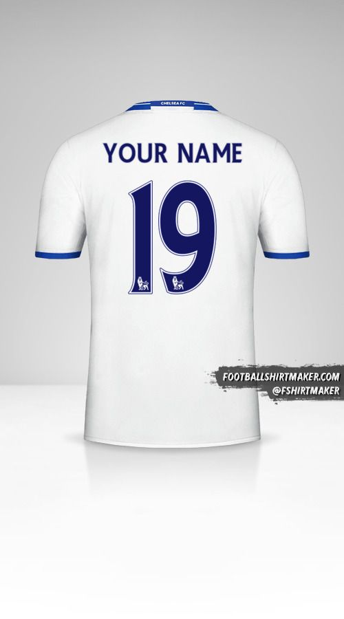 Chelsea 2016/17 III jersey number 19 your name
