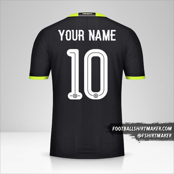 Chelsea 2016/17 Cup II jersey number 10 your name