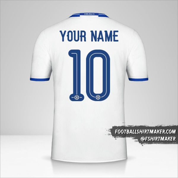 Chelsea 2016/17 Cup III jersey number 10 your name