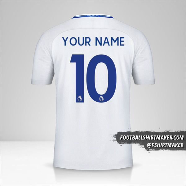 Chelsea 2017/18 II jersey number 10 your name