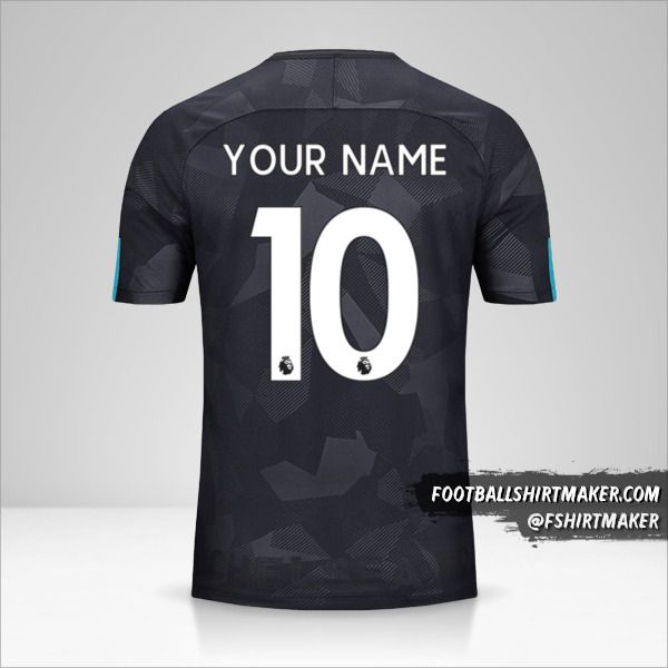 Chelsea 2017/18 III jersey number 10 your name