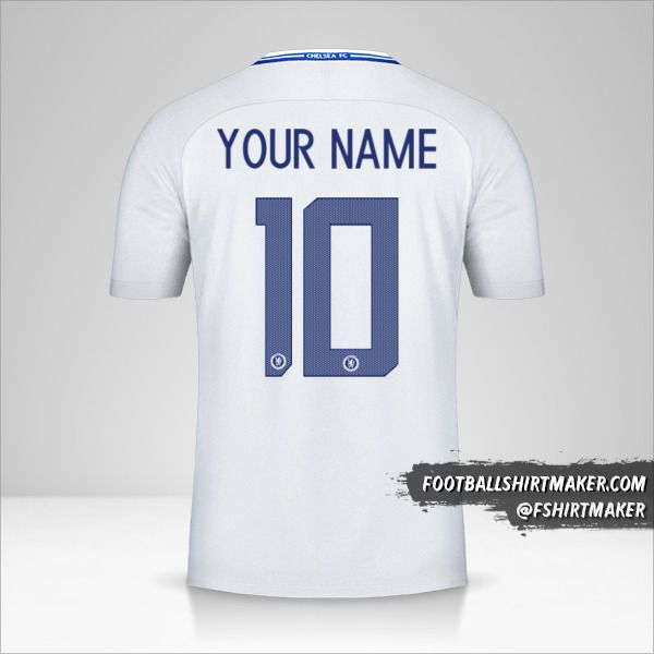 Chelsea 2017/18 Cup II jersey number 10 your name