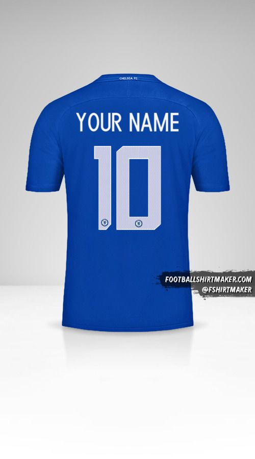 Chelsea 2017/18 Cup jersey number 10 your name