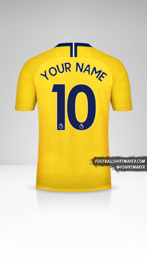 Chelsea 2018/19 II jersey number 10 your name