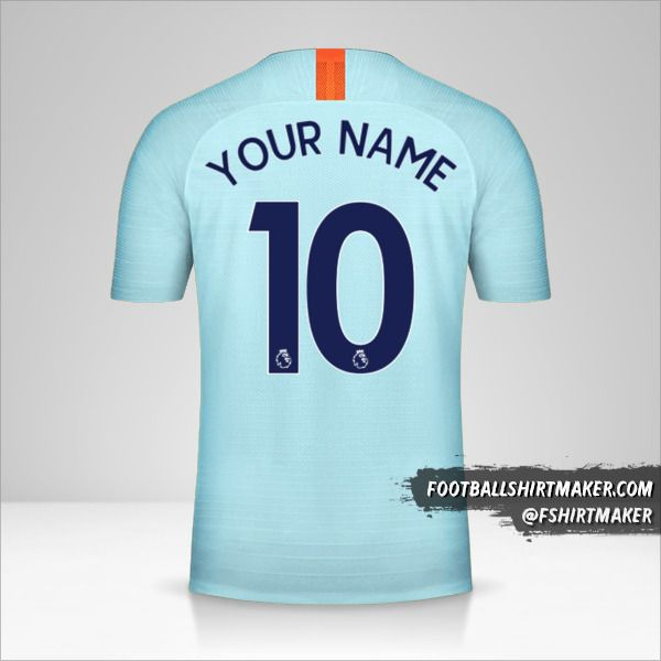 Chelsea 2018/19 III jersey number 10 your name