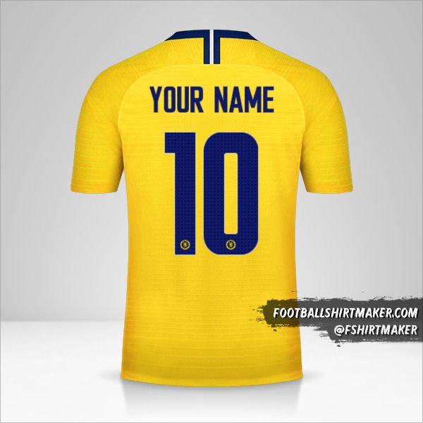 Chelsea 2018/19 Cup II jersey number 10 your name