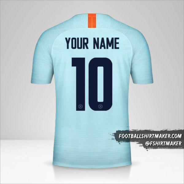 Chelsea 2018/19 Cup III jersey number 10 your name