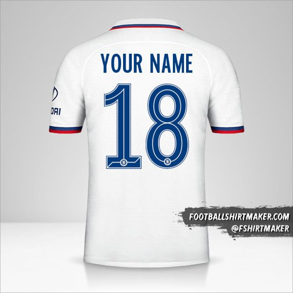 Chelsea 2019/20 Cup II jersey number 18 your name
