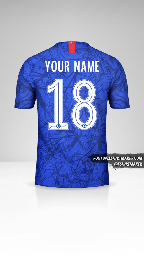 Chelsea 2019/20 Cup jersey number 18 your name