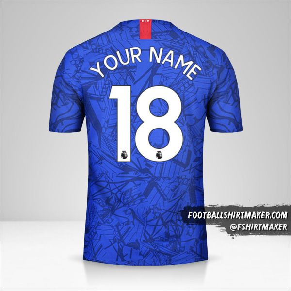 Chelsea jersey 2019/20 number 18 your name