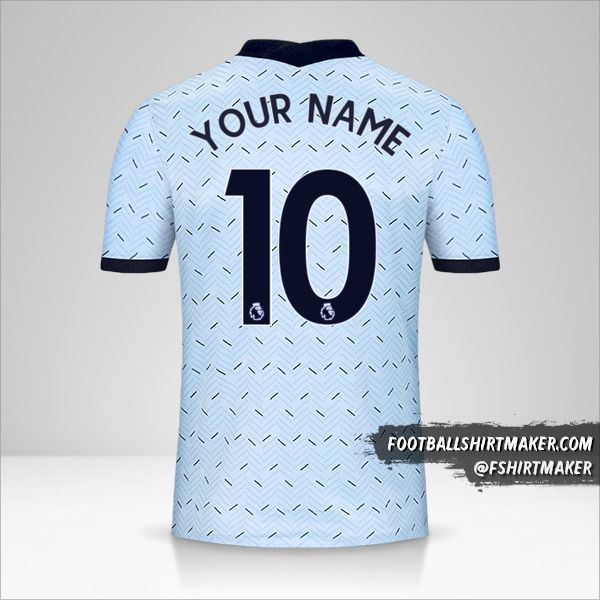 Chelsea 2020/21 II jersey number 10 your name
