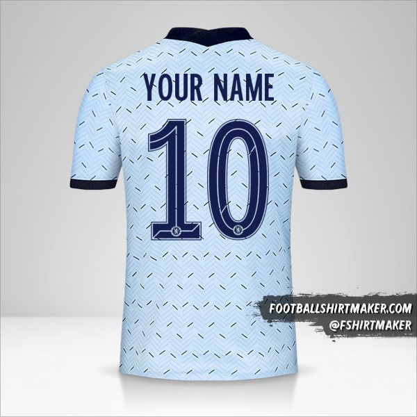 Chelsea 2020/21 Cup II jersey number 10 your name