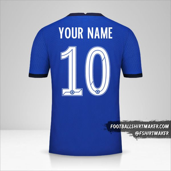 Chelsea 2020/21 Cup jersey number 10 your name