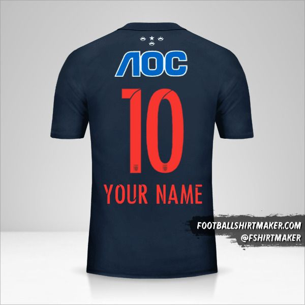 Club Alianza Lima 2016 jersey number 10 your name