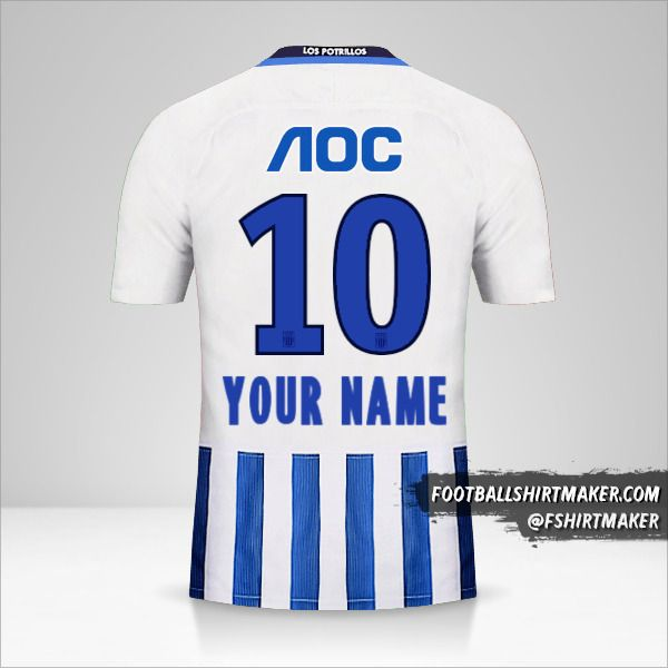 Club Alianza Lima 2017 jersey number 10 your name