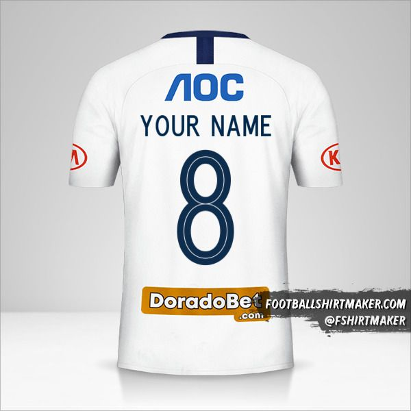 Club Alianza Lima jersey 2019 number 8 your name