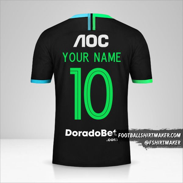 Club Alianza Lima jersey 2020 II number 10 your name