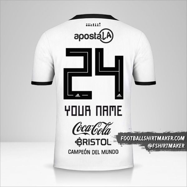Club Olimpia 2018/19 jersey number 24 your name