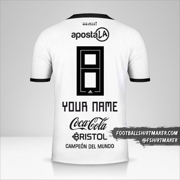 Club Olimpia jersey 2018/19 number 8 your name