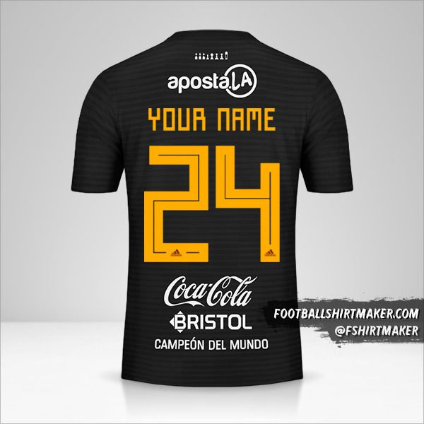 Club Olimpia Libertadores 2019 II jersey number 24 your name