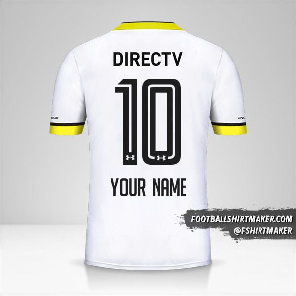 Colo Colo 2016 jersey number 10 your name
