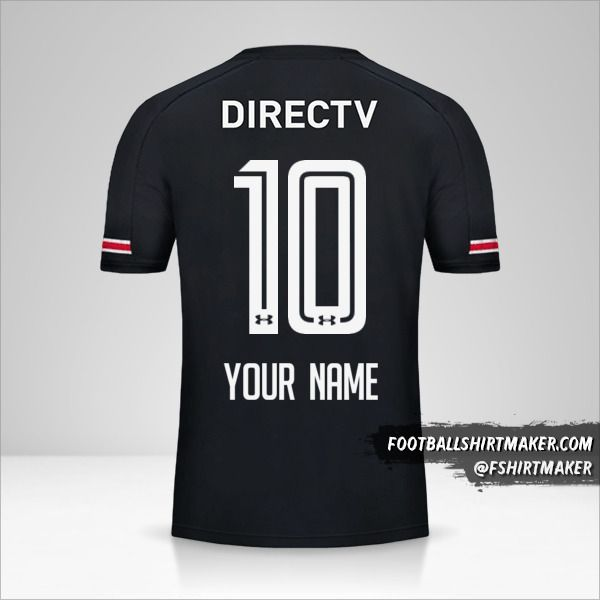 Colo Colo 2017 II jersey number 10 your name