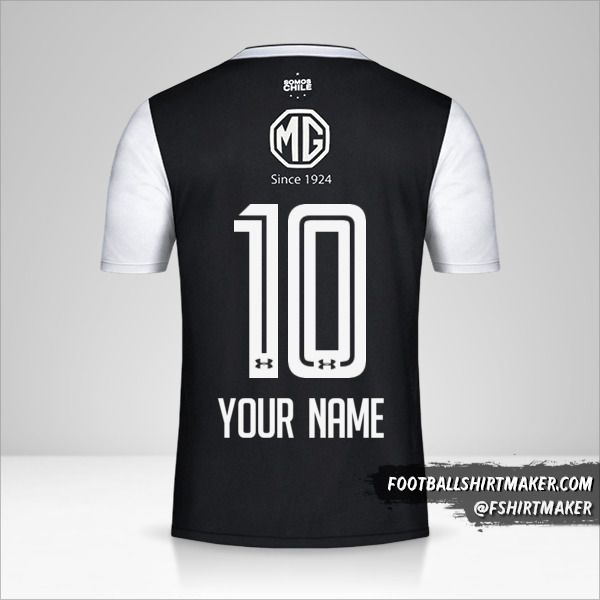 Colo Colo 2018 II jersey number 10 your name