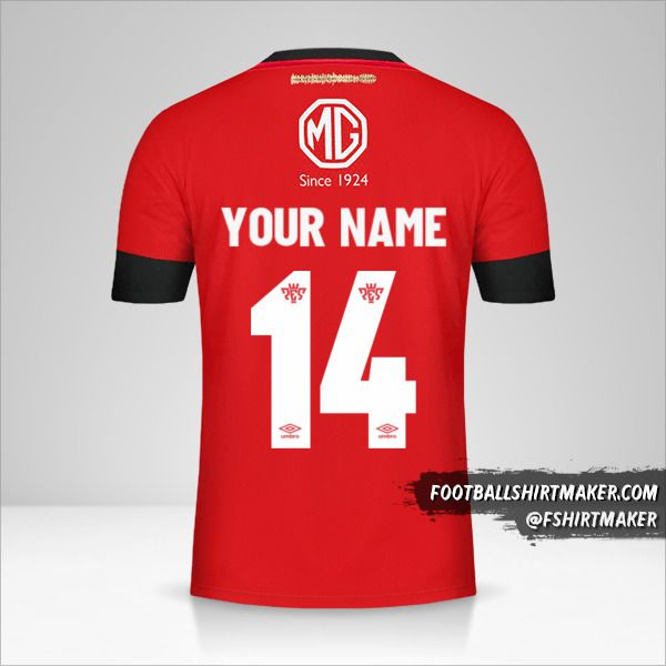 Colo Colo 2019/20 III jersey number 14 your name