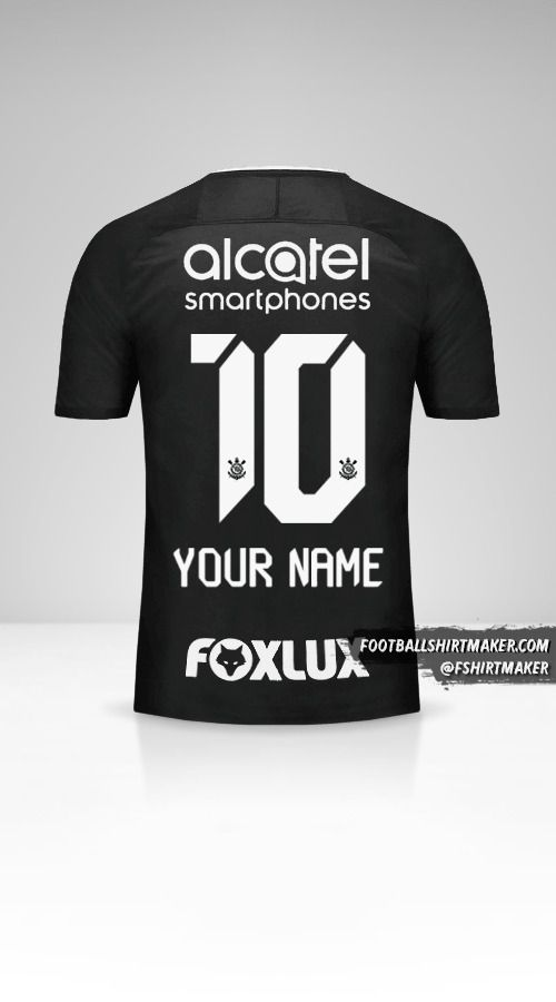 Corinthians 2017/18 II jersey number 10 your name