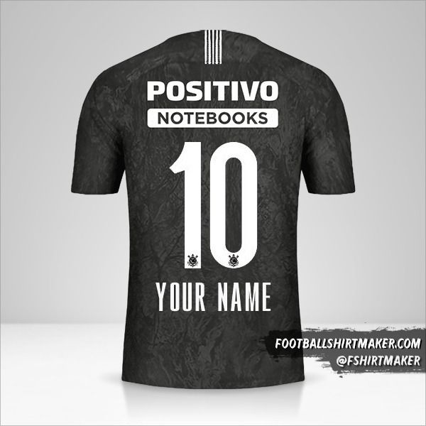 Corinthians 2018/19 II jersey number 10 your name