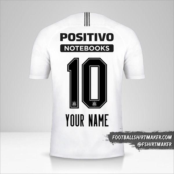 Corinthians 2018/19 jersey number 10 your name