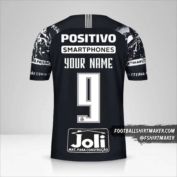 Corinthians 2019/20 III jersey number 9 your name
