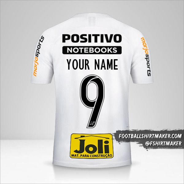 Corinthians 2019/20 jersey number 9 your name
