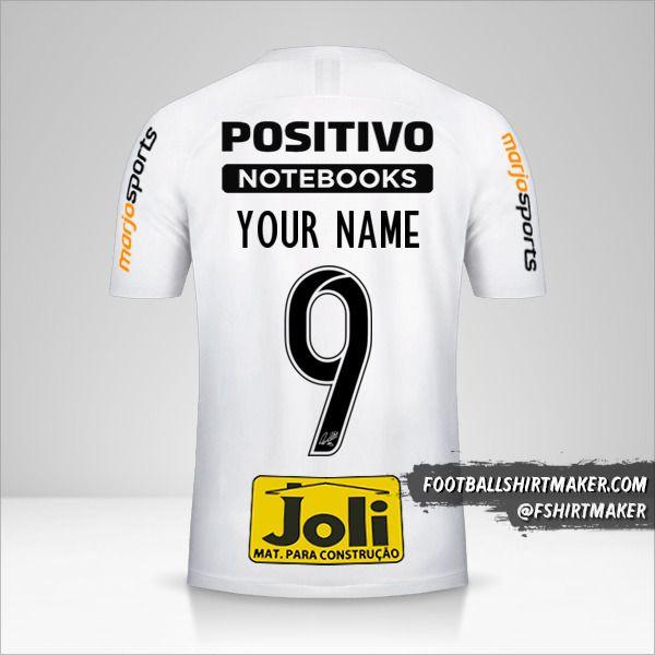 Corinthians 2019/20 jersey number 9 your name