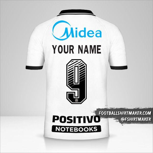 Corinthians 2020/21 jersey number 9 your name