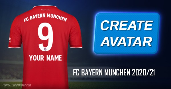 Make Fc Bayern Munchen 2020 21 Custom Jersey With Your Name