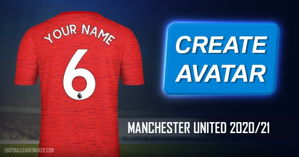 make manchester united 2020 21 custom jersey with your name manchester united 2020 21 custom jersey