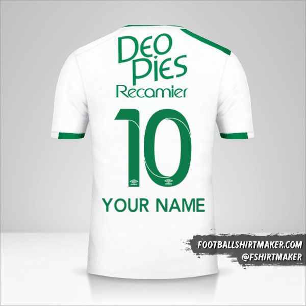 Deportivo Cali 2017 II jersey number 10 your name