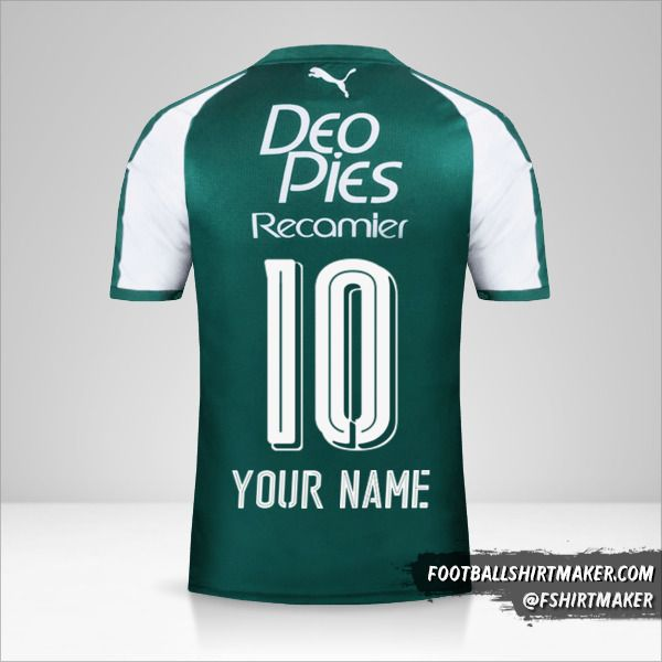 Deportivo Cali 2018 jersey number 10 your name