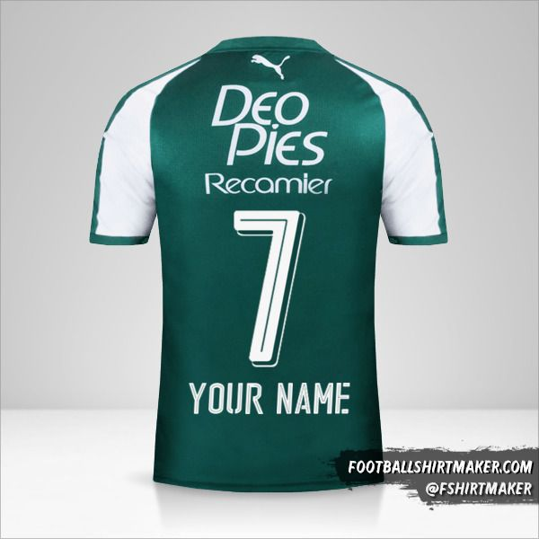 Deportivo Cali jersey 2018 number 7 your name
