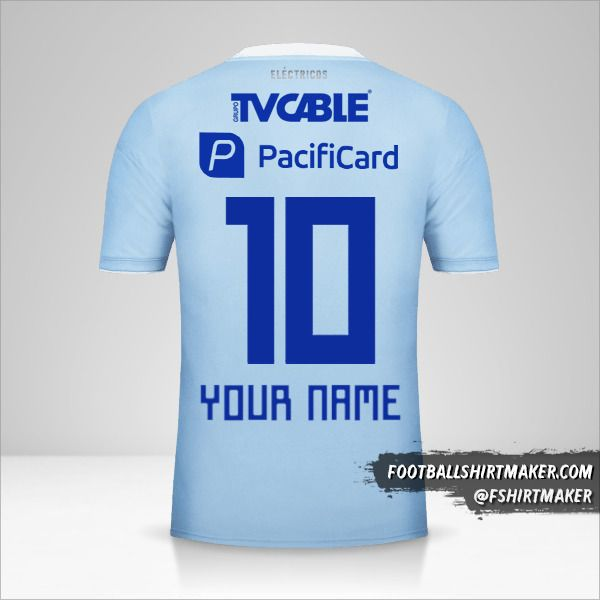 Emelec 2018 jersey number 10 your name
