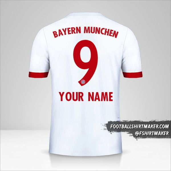 FC Bayern Munchen 2017/18 III jersey number 9 your name